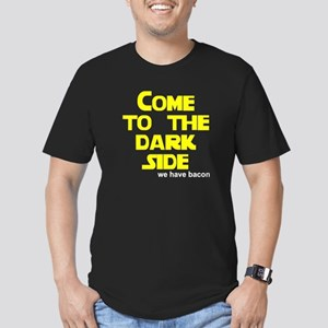 Come to the dark side we have Men's Fitted T-Shirt
