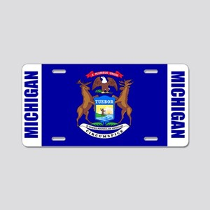 Michigan Aluminum License Plate