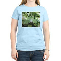 Luna Moth & Hostas Women's Light T-Shirt