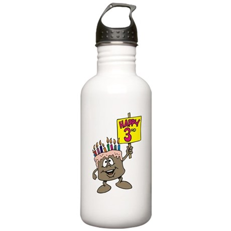 3rd Birthday Stainless Water Bottle 1.0L
