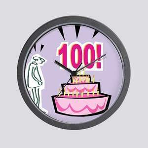100th Birthday Wall Clock