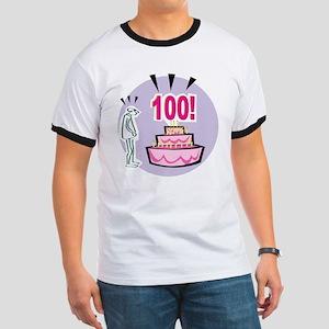 100th Birthday Ringer T