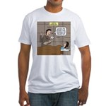 Hospital Delivery Mix-Up Fitted T-Shirt