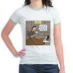 Hospital Delivery Mix-Up Jr. Ringer T-Shirt
