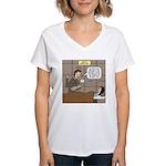 Hospital Delivery Mix-Up Women's V-Neck T-Shirt