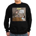 Hospital Delivery Mix-Up Sweatshirt (dark)