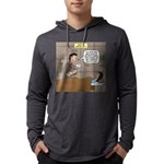 Hospital Delivery Mix-Up Mens Hooded Shirt