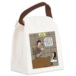Hospital Delivery Mix-Up Canvas Lunch Bag