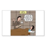 Hospital Delivery Mix-Up Sticker (Rectangle 10 pk)