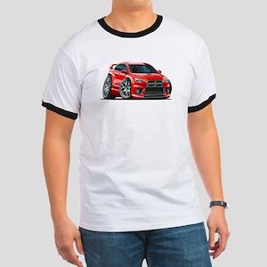 Mitsubishi Evo Red Car Ringer T