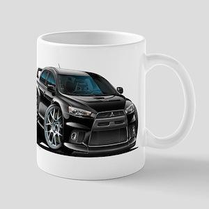 Mitsubishi Evo Black Car Mug
