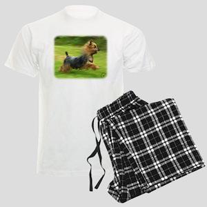 Australian Silky Terrier 9B19 Men's Light Pajamas