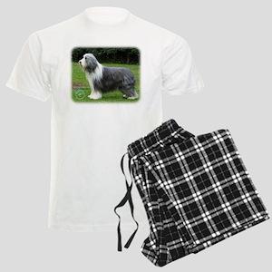 Bearded Collie 8R002D-16 Men's Light Pajamas