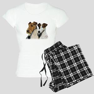 Fox Terrier 9T008D-30 Women's Light Pajamas