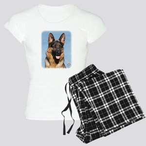 German Shepherd Dog 9Y554D-15 Women's Light Pajama