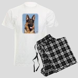 German Shepherd Dog 9Y554D-15 Men's Light Pajamas