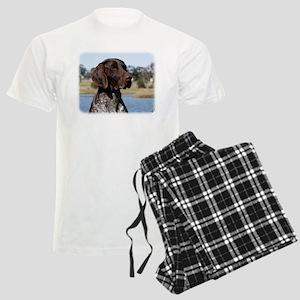 German Shorthaired Pointer 9Y Men's Light Pajamas