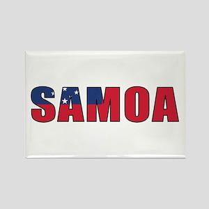 Samoa Rectangle Magnet