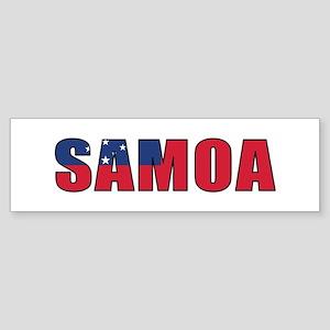 Samoa Sticker (Bumper)