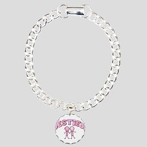 Besties Charm Bracelet, One Charm