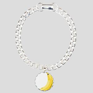 Banana Charm Bracelet, One Charm