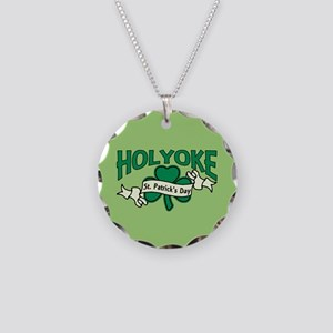 Holyoke St. Patrick's Day Necklace Circle Charm