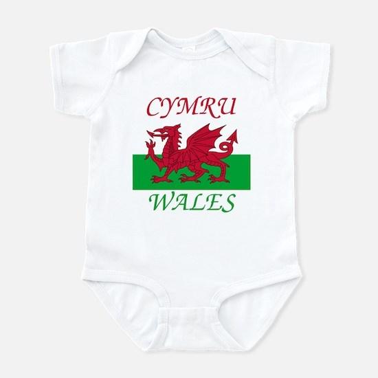 Wales-Cymru Body Suit