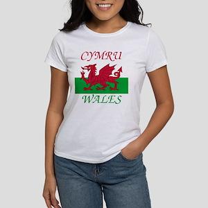 Cymru-Wales Women's Classic T-Shirt