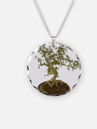 Bonsai Graphic Necklace