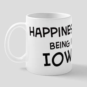Happiness is Iowa Mug