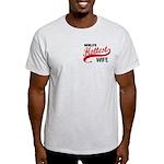 World's Hottest Wife Light T-Shirt