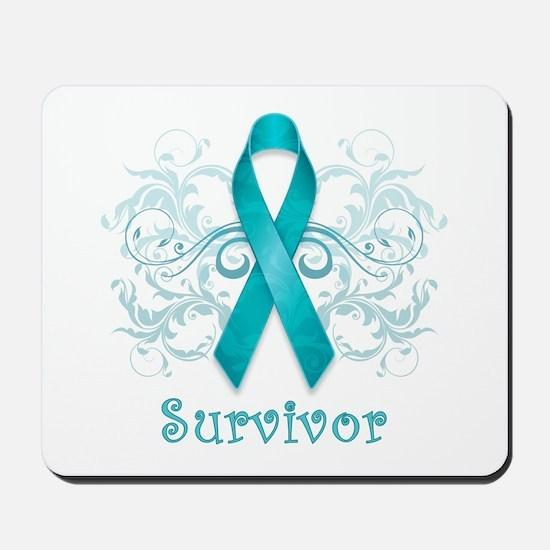 Ovarian Cancer Survivor Mousepad