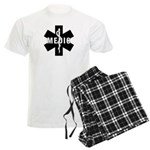 Medic EMS Star Of Life Men's Light Pajamas