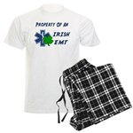 Irish EMT Property Men's Light Pajamas