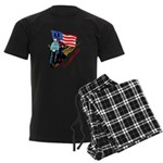 Paramedic Biker Men's Dark Pajamas