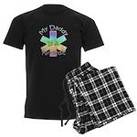 Paramedic Dad Men's Dark Pajamas