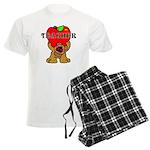 Teachers Apple Bear Men's Light Pajamas