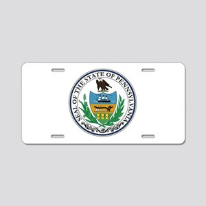 Coat of Arms Aluminum License Plate
