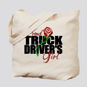 Be Proud - Truck Driver's Girl Tote Bag