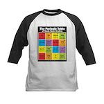Comics Periodic Table Kids Baseball Jersey