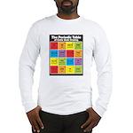 Comics Periodic Table Long Sleeve T-Shirt
