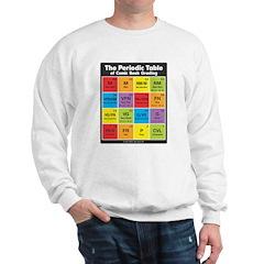 Comics Periodic Table Sweatshirt