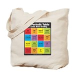Comics Periodic Table Tote Bag
