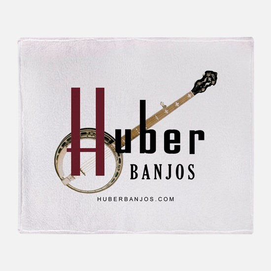 Huber Banjos Throw Blanket