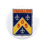 """USS CHEVALIER 3.5"""" Button"""