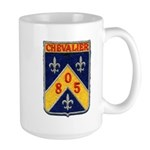 USS CHEVALIER Large Mug