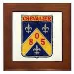 USS CHEVALIER Framed Tile