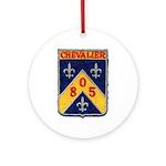 USS CHEVALIER Ornament (Round)