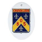 USS CHEVALIER Ornament (Oval)