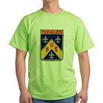 USS CHEVALIER Green T-Shirt